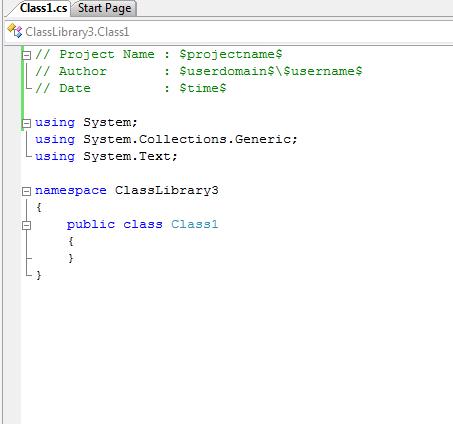 Visual Studio İçin Template Hazırlama (C#) (5/6)